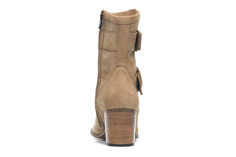 Bottines et boots Free Lance Azev 7 mini strap Marron vue droite