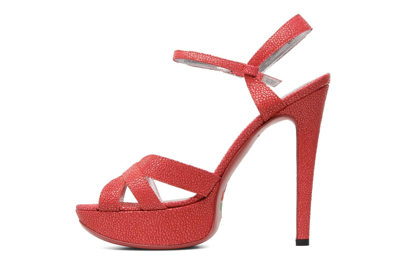 Sandales et nu-pieds Free Lance Emely 7 sandal Rose vue face