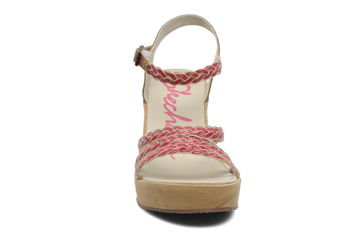 Sandals Skechers Peek A Boo 38229 Pink model view