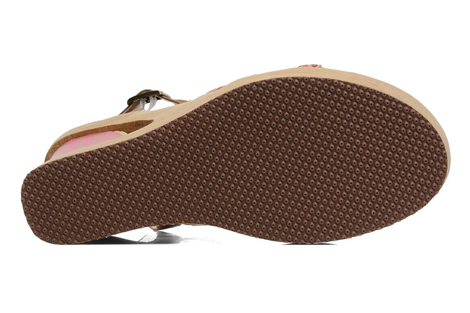 Sandals Skechers Peek A Boo 38229 Pink view from above