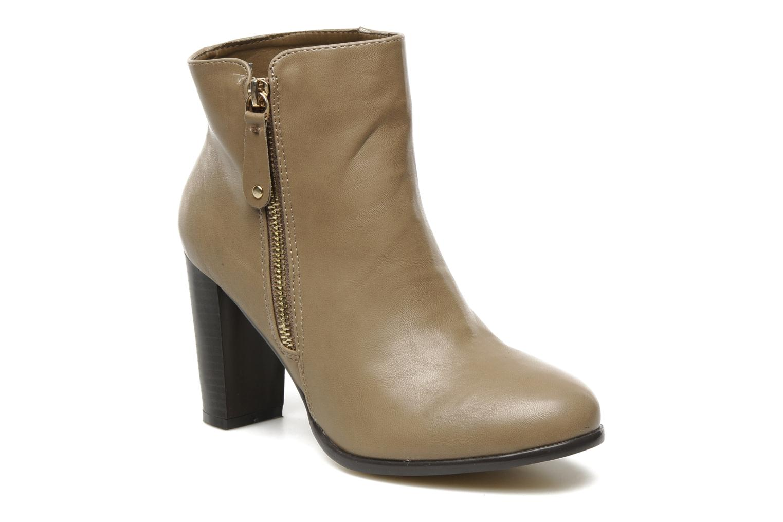 Bottines et boots Eclipse Bottine Eleonore Beige vue détail/paire