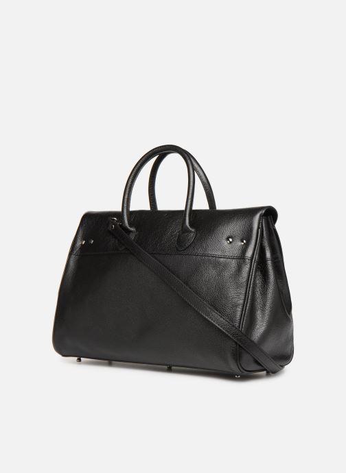 Handbags Mac Douglas Pyla BUNI S Black view from the right