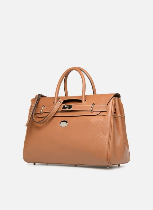 Handbags Mac Douglas Pyla BUNI S Brown model view