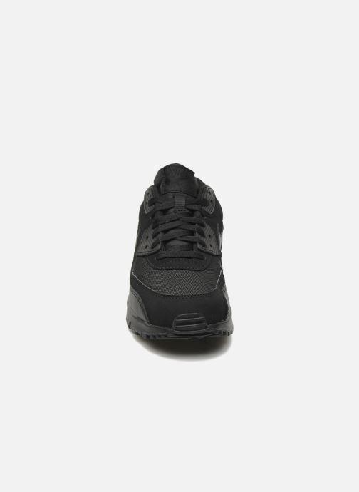 Baskets Nike Nike Air Max 90 Essential Noir vue portées chaussures