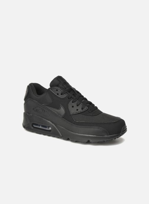 best service 6badc 66d57 Baskets Nike Nike Air Max 90 Essential Noir vue détail paire