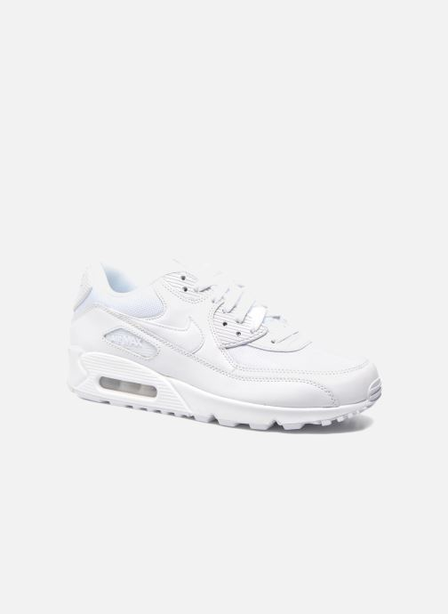 new product b85df e2ec7 Baskets Nike Nike Air Max 90 Essential Blanc vue détail paire