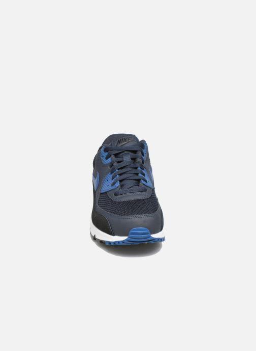 Nike Air Max 90 Essential BlackDv Grey Gym Blue   Footshop