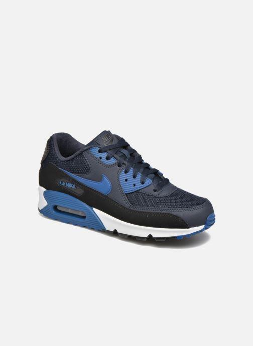 save off 3254a ac955 Baskets Nike Nike Air Max 90 Essential Bleu vue détail paire