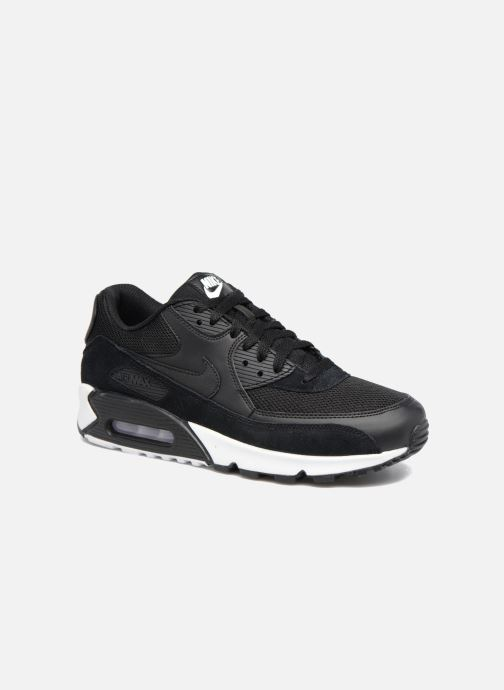 best service c7e59 cf969 Baskets Nike Nike Air Max 90 Essential Noir vue détail paire