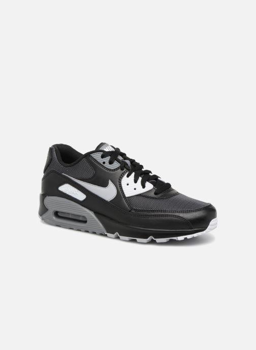 newest 0ce8c f28de Baskets Nike Nike Air Max 90 Essential Noir vue détailpaire