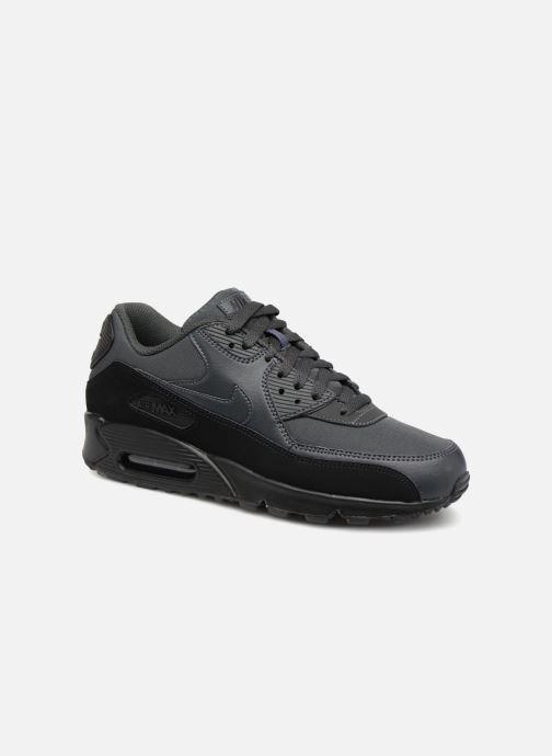 best service bc708 0c663 Baskets Nike Nike Air Max 90 Essential Noir vue détail paire