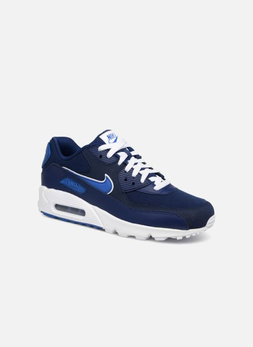 official photos 9c5f9 6598b Trainers Nike Nike Air Max 90 Essential Blue detailed view  Pair view