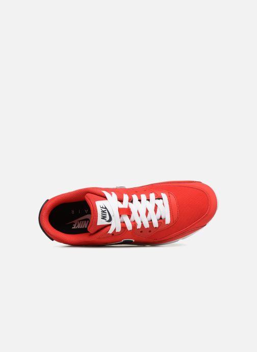 competitive price e5208 0f5f7 Baskets Nike Nike Air Max 90 Essential Rouge vue gauche