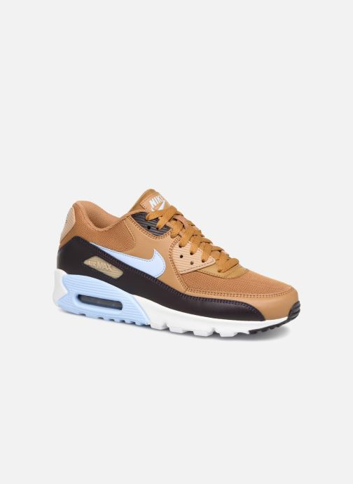 brand new dc1ca 64d45 Trainers Nike Nike Air Max 90 Essential Brown detailed view  Pair view