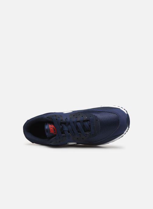 Baskets Nike Nike Air Max 90 Essential Bleu vue gauche