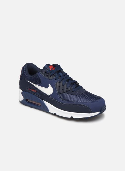 detailed pictures official site on feet shots of Nike Nike Air Max 90 Essential (Bleu) - Baskets chez Sarenza (356531)