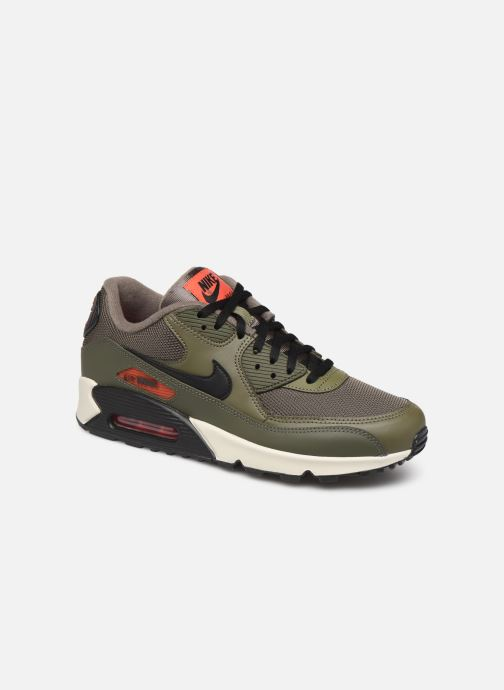 Baskets Nike Nike Air Max 90 Essential Vert vue détail/paire