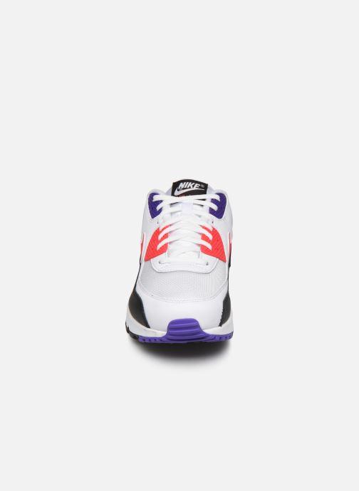 Baskets Nike Nike Air Max 90 Essential Blanc vue portées chaussures