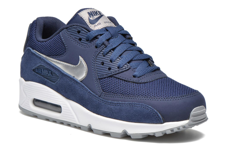 26c5fafa416c ... Trainers Nike Nike Air Max 90 Essential Blue detailed view Pair view ...