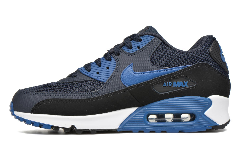 Baskets Nike Nike Air Max 90 Essential Bleu vue face