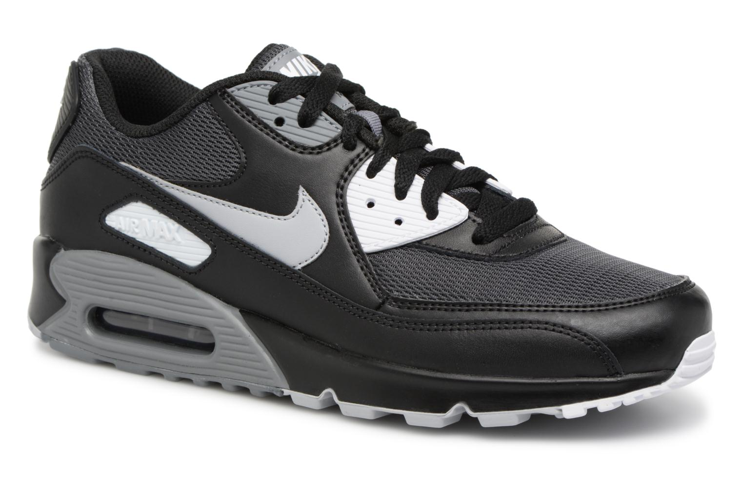 online store a93f5 40590 ... coupon trainers nike nike air max 90 essential black detailed view pair  view 6775a 15317