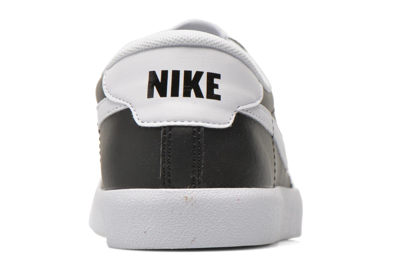 Baskets Nike Tennis Classic Ac Noir vue droite