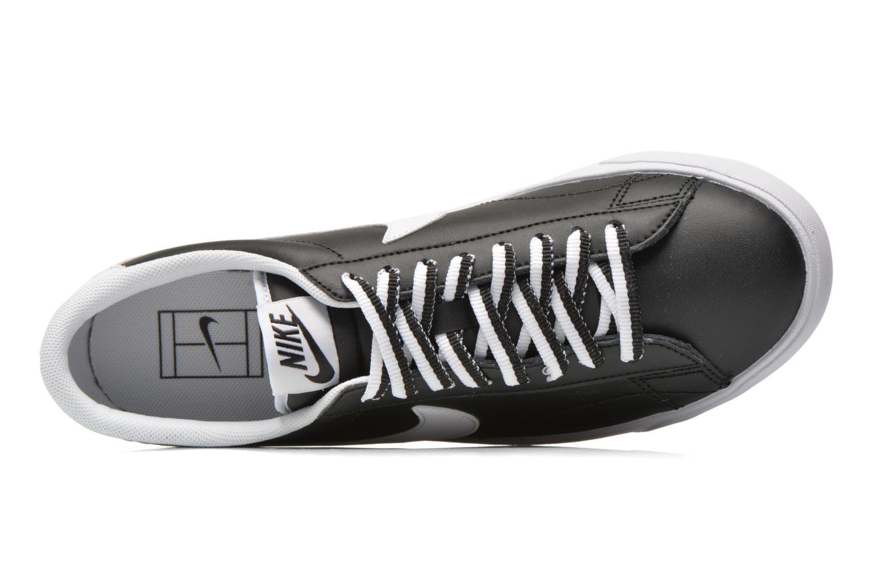 Baskets Nike Tennis Classic Ac Noir vue gauche