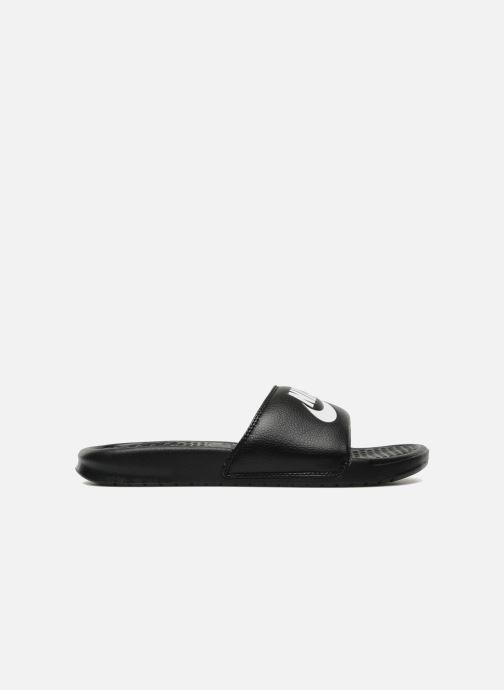 Sandalen Nike Benassi Jdi schwarz ansicht von hinten