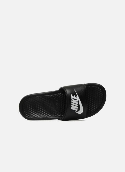 Sandalen Nike Benassi Jdi Zwart links