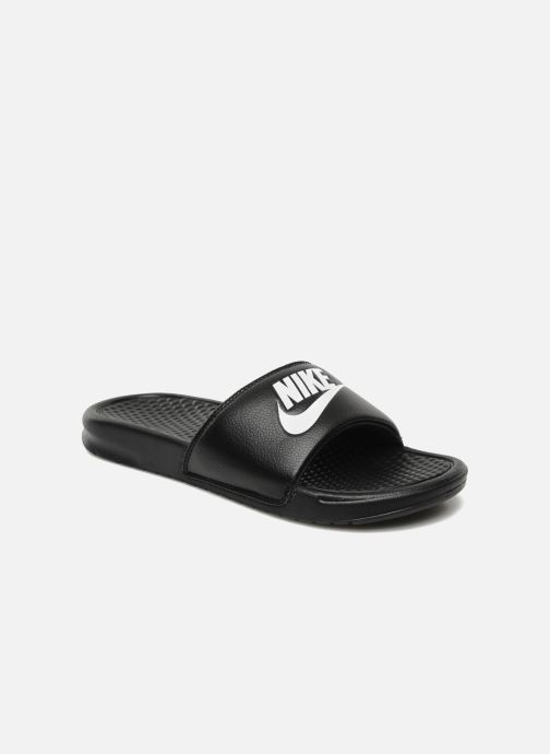 Sandalias Nike Benassi Jdi Negro vista de detalle / par