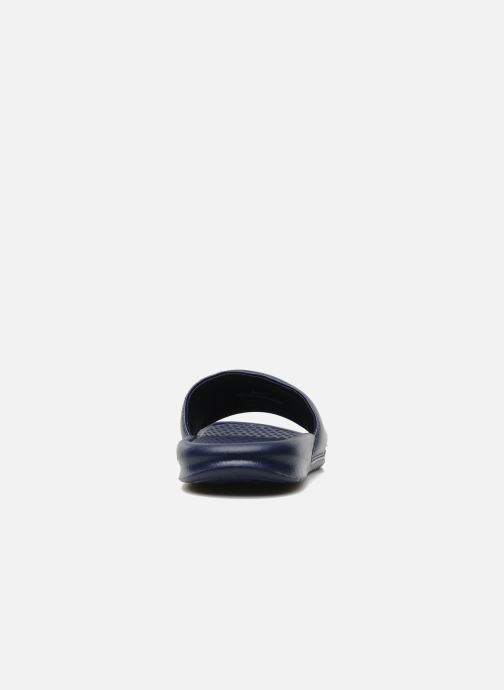 Sandales et nu-pieds Nike Benassi Jdi Bleu vue droite