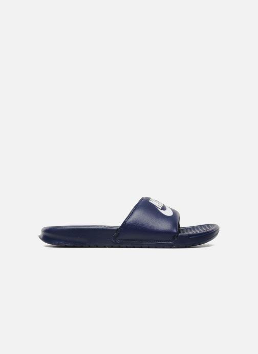 Sandali e scarpe aperte Nike Benassi Jdi Azzurro immagine posteriore