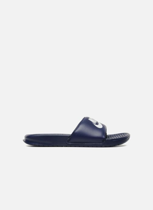 Sandalias Nike Benassi Jdi Azul vistra trasera