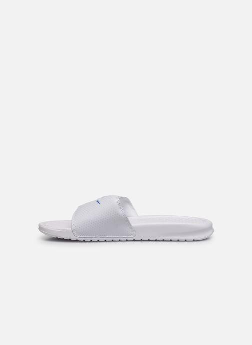 Sandali e scarpe aperte Nike Benassi Jdi Bianco immagine frontale