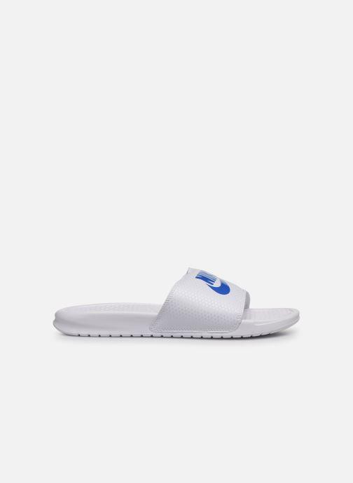 Sandalias Nike Benassi Jdi Blanco vistra trasera