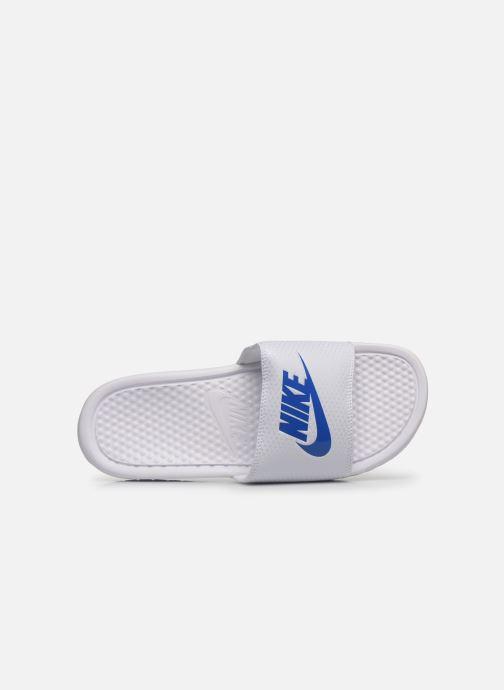 Sandalias Nike Benassi Jdi Blanco vista lateral izquierda