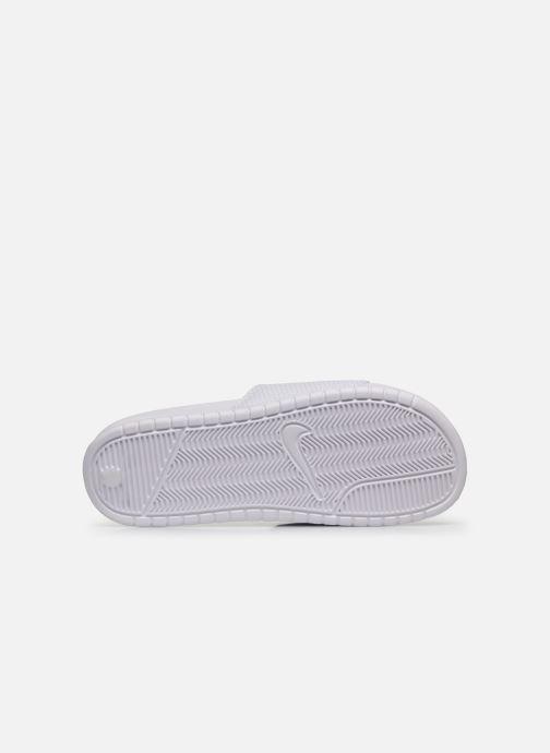 Sandalias Nike Benassi Jdi Blanco vista de arriba