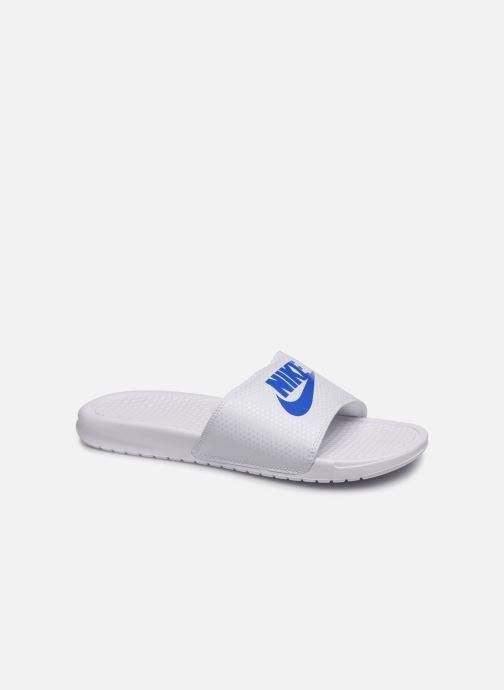 Sandalias Nike Benassi Jdi Blanco vista de detalle / par