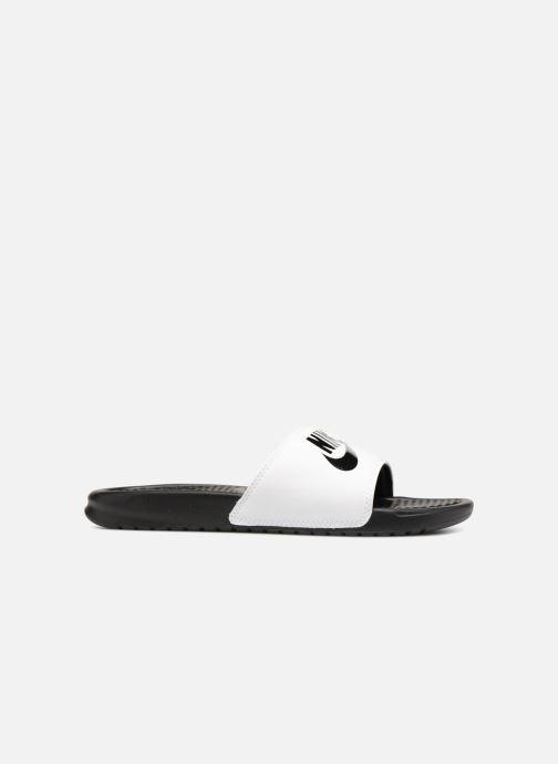 Sandalen Nike Benassi Jdi weiß ansicht von hinten