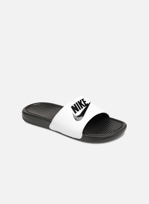 3d5e7ba1a3f8 Nike Benassi Jdi (Blanc) - Sandales et nu-pieds chez Sarenza (327330)