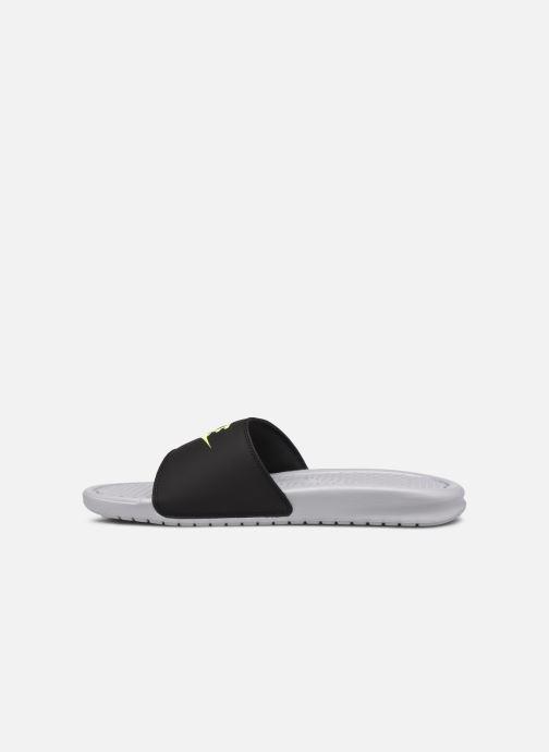 Sandales et nu-pieds Nike Benassi Jdi Gris vue face