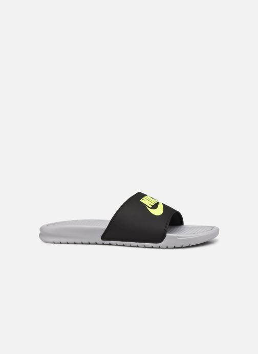 Sandales et nu-pieds Nike Benassi Jdi Gris vue derrière