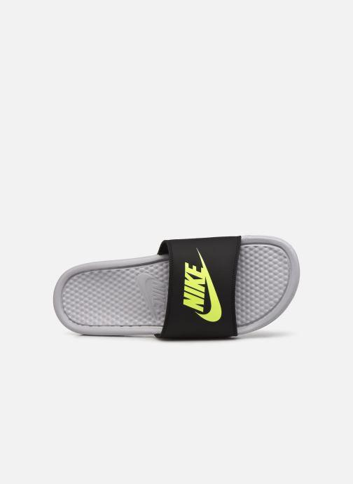 Sandales et nu-pieds Nike Benassi Jdi Gris vue gauche