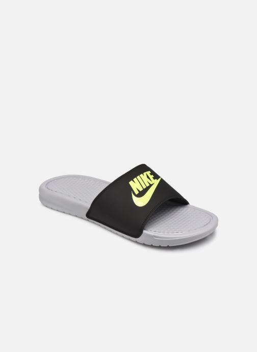 Sandales et nu-pieds Nike Benassi Jdi Gris vue détail/paire