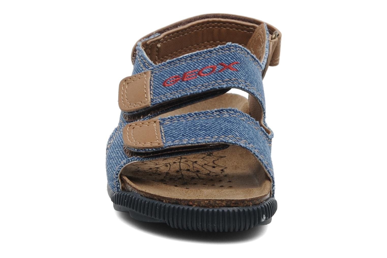 Sandales et nu-pieds Geox J S.STORM B Bleu vue portées chaussures