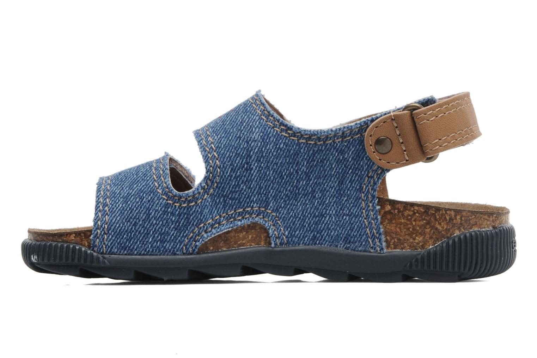 Sandales et nu-pieds Geox J S.STORM B Bleu vue face