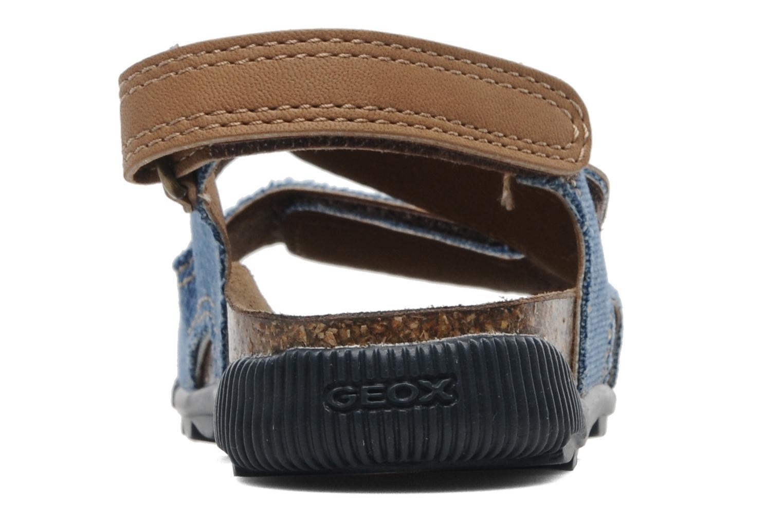 Sandales et nu-pieds Geox J S.STORM B Bleu vue droite