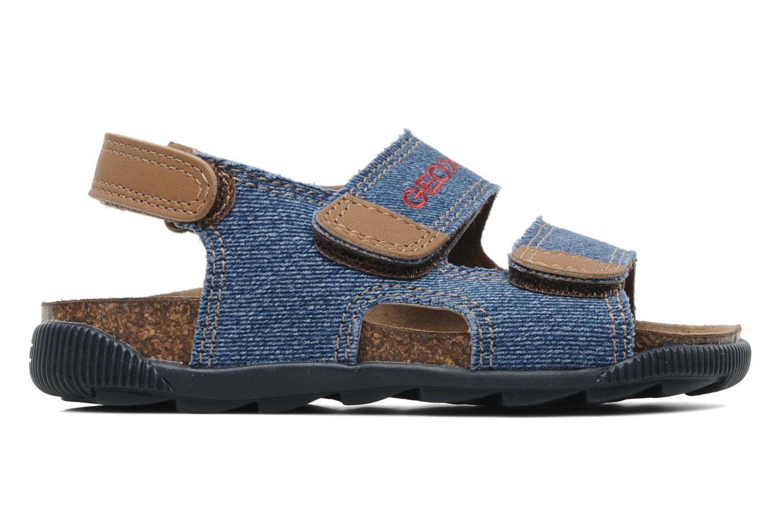 Sandales et nu-pieds Geox J S.STORM B Bleu vue derrière