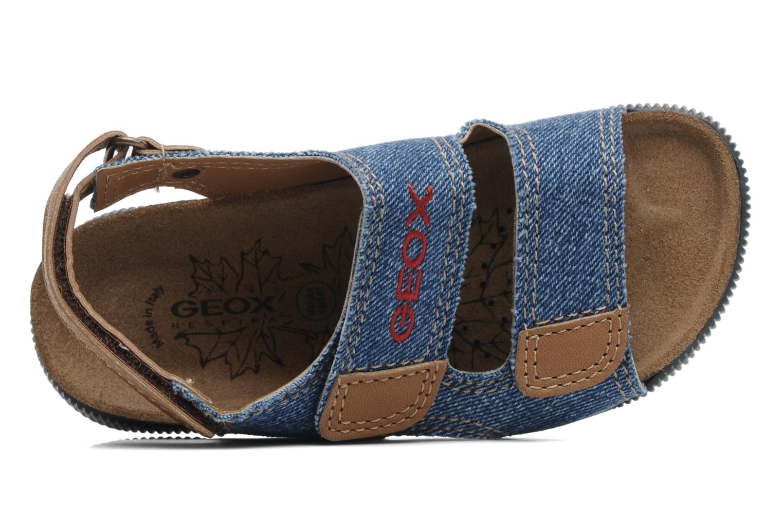 Sandales et nu-pieds Geox J S.STORM B Bleu vue gauche