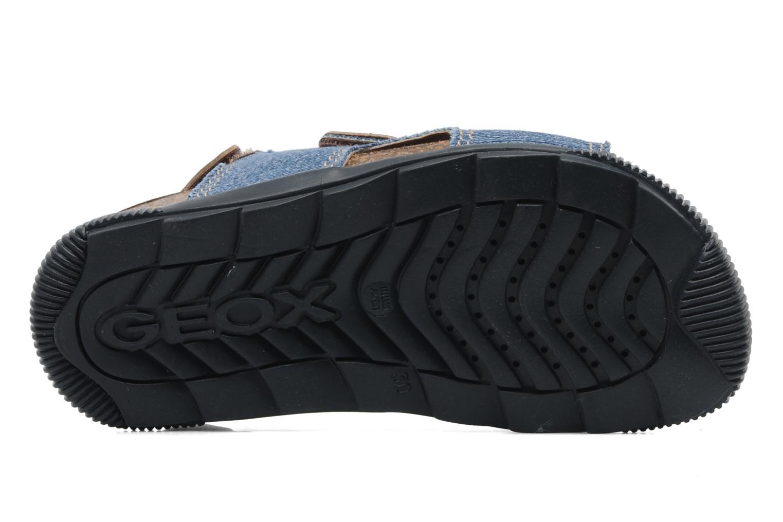 Sandales et nu-pieds Geox J S.STORM B Bleu vue haut